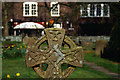 SJ9076 : Prestbury Churchyard by Stephen McKay