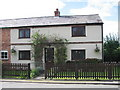 SJ4547 : Top House Cottage, Chorlton Lane, near Malpas, Cheshire by Merv Jones