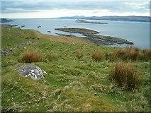 NM7602 : Achanarnaich Bay and Eilean Ona by Patrick Mackie