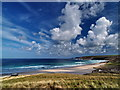 SW3626 : View of Whitesand Bay by Roger Butterfield