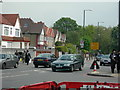 Dist:0.2km<br/>This part of London (Stamford Hill) is home to many Orthodox Jews. Note the way the men are dressed in this photo -- many men in this area dress like this.