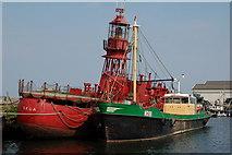 T2572 : Arklow harbour by Albert Bridge
