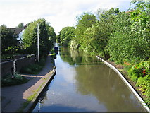SP0578 : Worcester and Birmingham Canal at King's Norton by David Stowell