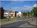 SP0578 : Zebra crossing, Parsons Hill, King's Heath by David Stowell