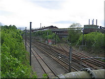 SP0177 : Former junction for Halesowen by David Stowell