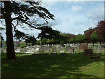 SZ1094 : Crematorium and North Cemetery by Stuart Buchan