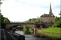 ST7564 : North Parade Bridge , River Avon, Bath by Pierre Terre