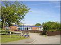 SJ3173 : Bishop Wilson C of E Primary, Puddington Lane, Burton by Sue Adair