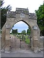 TL1446 : Northill Cemetery by Andrew Tatlow