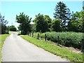 SP8318 : Burston Hill Farm Entrance by Rob Farrow