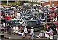SX4654 : Stonehouse Creek Car Boot Sale by Tony Atkin