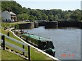 SJ6275 : Saltersford Locks on the River Weaver by Mike Harris