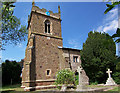 Church of St. Martin, South Willingham. Not easy to photograph due to bushes and trees.
