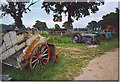 TQ0622 : Old Farm Machinery at Brinsbury Campus. by Colin Smith