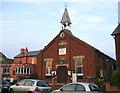 TL1738 : Parish Hall, Henlow, Beds by Rodney Burton