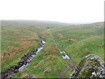 NS3160 : Maich Water and track to Misty Law by Chris Wimbush