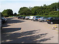 TQ5745 : The car park, Haysden Country park by Nigel Chadwick