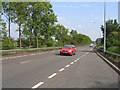 TL2239 : A1 dual carriageway, Astwick, Beds by Rodney Burton