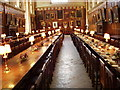 SP5105 : Hall interior, Christ Church, Oxford by David Hawgood