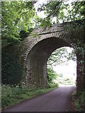 SW6431 : Old railway bridge by Sheila Russell