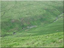 NT0915 : Sheepfold beside Carter Hope by Chris Wimbush