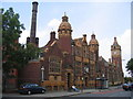 SP0784 : Balsall Heath Public Baths and Free Library by David Stowell