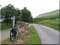 SO2336 : road and bridleway by Stephen Craven