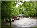 SE9060 : Popular Cafe in the wood near Fimber roundabout by Phil Catterall