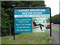 NZ3552 : Industrial estate advert by rob bishop
