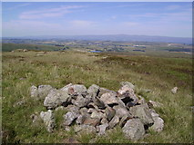 NY5308 : Cairn, Wasdale Pike by Michael Graham