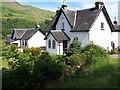 NS0288 : Glendaruel, Conchra House and Kilmodan Cottage by william craig