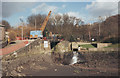 SE0922 : Salterhebble Lock, drained by Stephen Craven