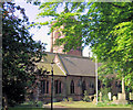 SJ5562 : St Helens Church, Tarporley by Alan Godfree