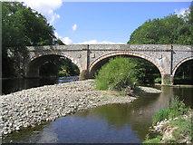NT4831 : Ettrick Bridge spanning the Ettrick Water by Walter Baxter