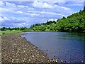 NH5345 : Looking down the River Beauly by Donald Bain