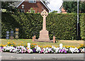 SJ5774 : War memorial at Crowton, Cheshire by Alan Godfree