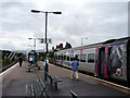 SJ2207 : New Station Platform, Welshpool by John Lucas