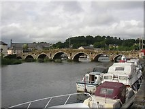 S7143 : Bridge between Graiguenamanagh and Tinnahinch, Co. Kilkenny / Co. Carlow by Humphrey Bolton