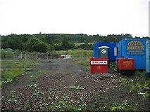 NS4760 : Demolition of Glenfield Cattle Market by John Allan