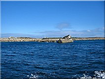 SV8806 : Great Wingletang and the southern side of St Agnes by Richard Knights