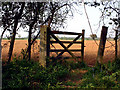 TF1202 : Old gate in Castor Hanglands NNR by Terry McKenna