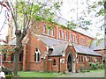 TQ2973 : St Thomas' church, Telford Avenue by Stephen Craven