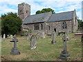 SO3617 : Church at Llanvetherine / Llanwytherin by Philip Halling