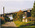 SK5188 : Brookhouse viaduct by Stephen Craven