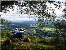 NN6208 : Callander Crags by Colin Smith