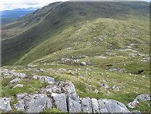 NN4465 : Bealach Leathann by Chris Wimbush