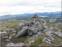 NN4563 : Cairn on Garbh Mheall Mor by Chris Wimbush