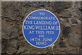 Photo of William III of England blue plaque