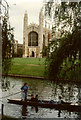 TL4458 : Cambridge, King's College from the Backs by Neil Kennedy