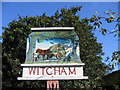TL4679 : Village sign detail, Witcham, Cambs by Rodney Burton